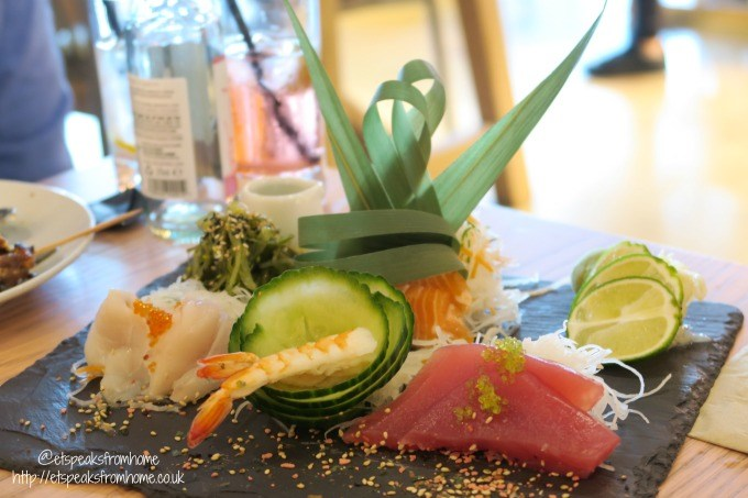 chi kitchen sushi platter