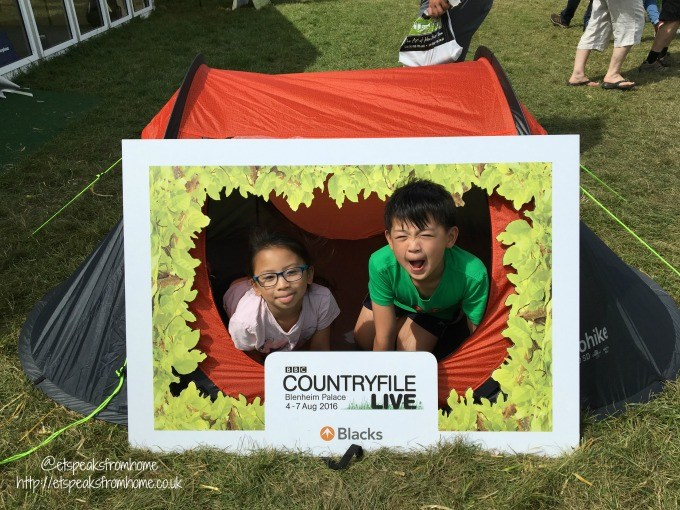 countryfile live tent