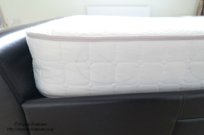 Sprung Memory Foam Rolled Mattress height