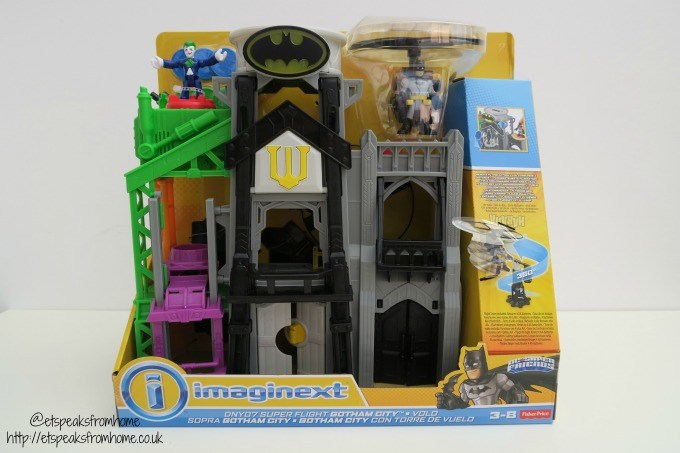 imaginext superflight city
