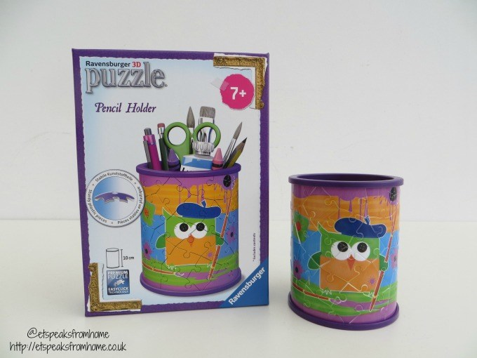 ravensburger 3d puzzle funky owl pencil holder