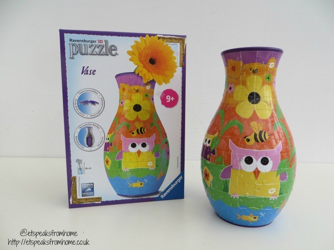 ravensburger 3d puzzle funky owl vase