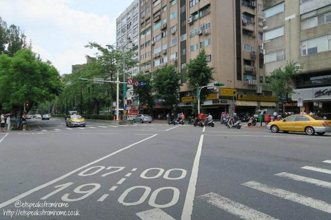 taipei traffic road