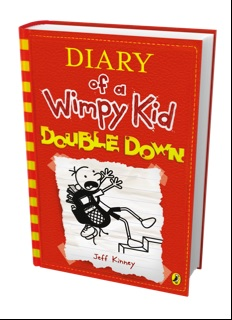 Wimpy kid double down halloween activity et speaks from home mr k is super excited and cant wait to get the book just to tease him i managed to get him to read the first extract want a sneak preview solutioingenieria Choice Image