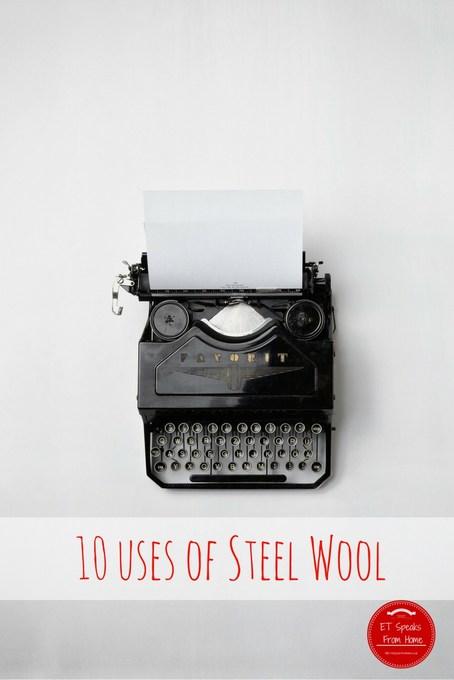 10 uses of steel wool