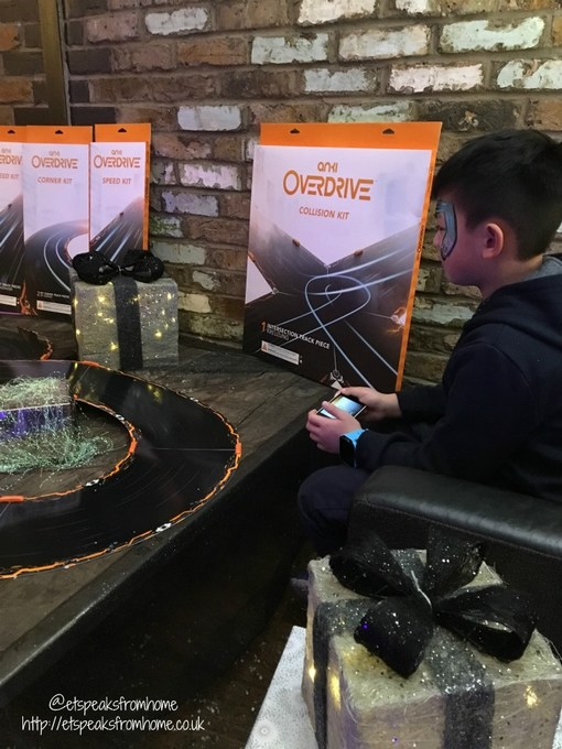 anki overdrive christmas event racing