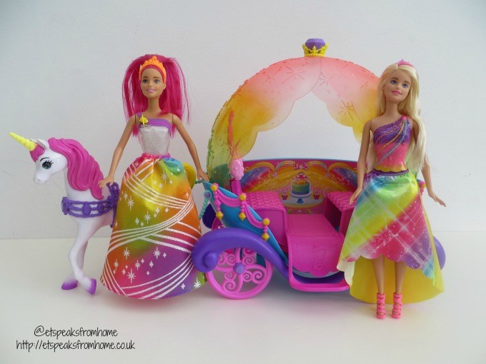 barbie dreamtopia carriage