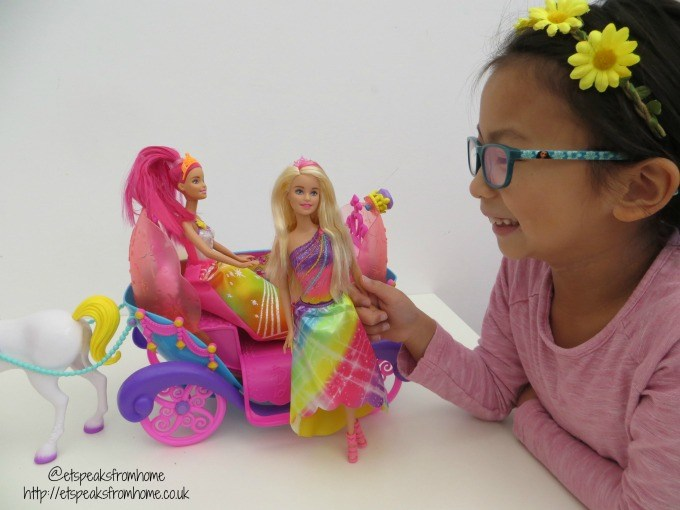 barbie dreamtopia toy playing