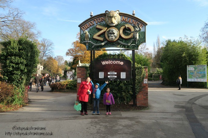 drayton manor magical christmas zoo