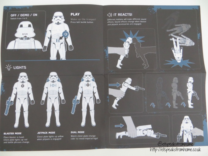 interactech imperial stormtrooper instructions