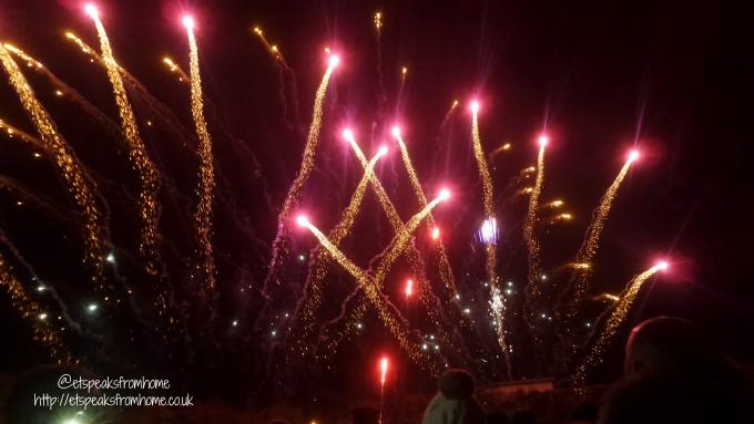 tamworth annual firework 2016 display