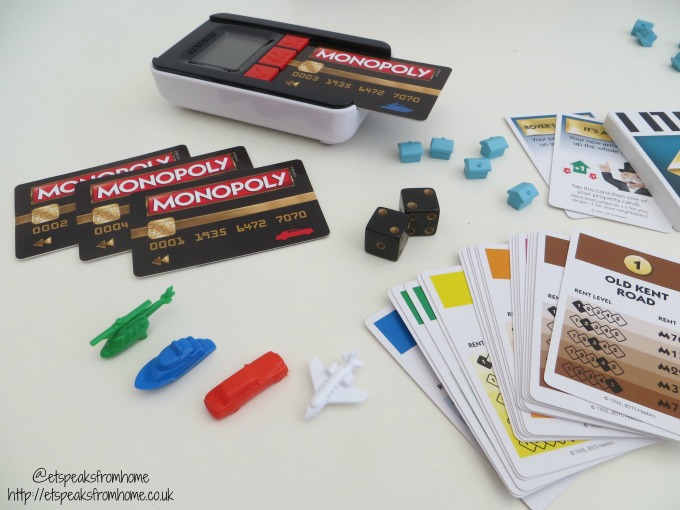 monopoly ultimate banking cards