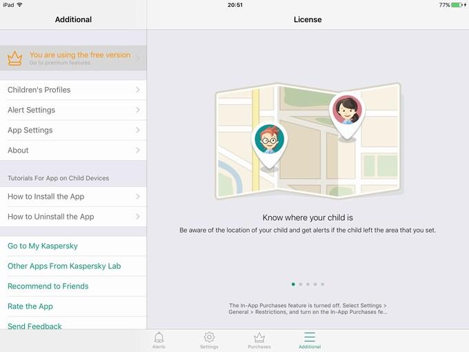 Kaspersky Safe Kids app