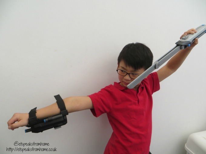Spy Gear Ninja Sword & Wrist Blaster from Spin Masters