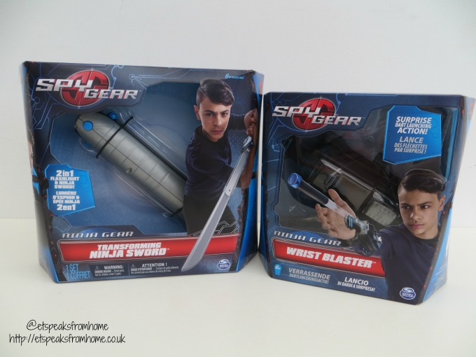 Spy Gear Ninja Sword & Wrist Blaster review