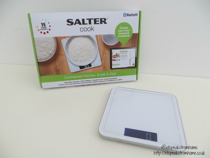 salter connected kitchen scale & app review