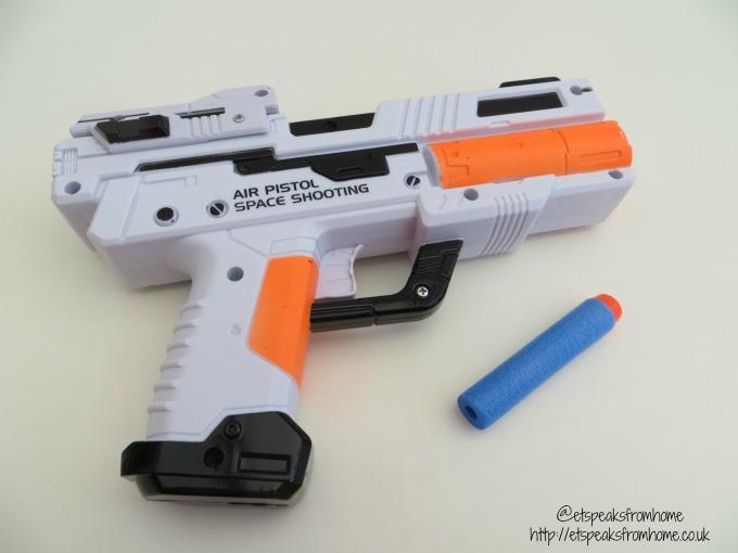 space wars aerovane target blaster foam dart
