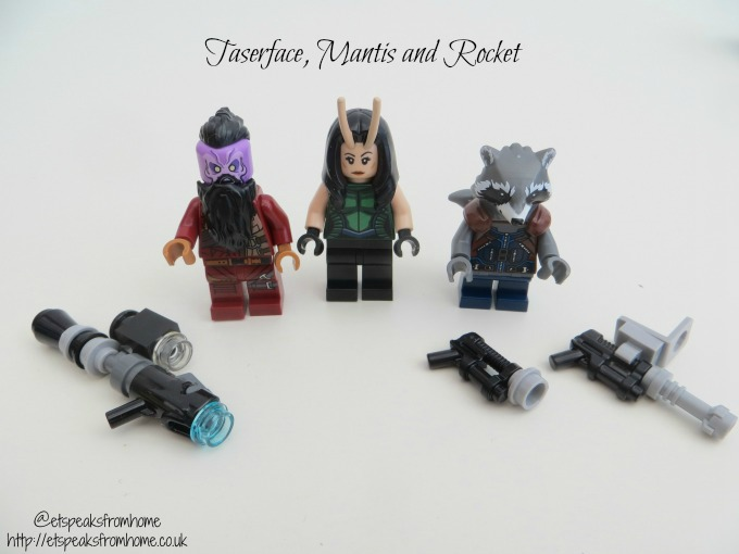 LEGO MARVEL Super Heroes Ravager Attack characters