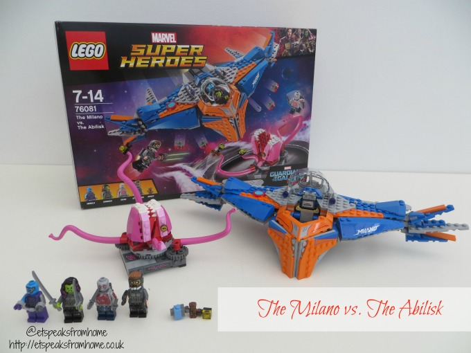 LEGO MARVEL Super Heroes The Milano vs. The Abilisk