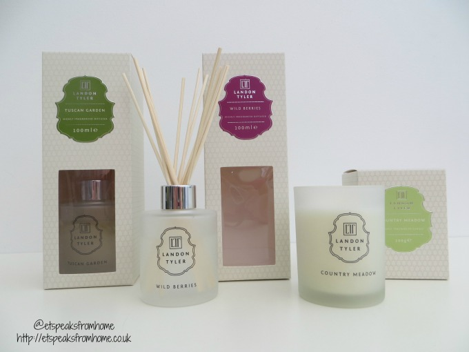 Landon Tyler Scented Candles and Diffusers