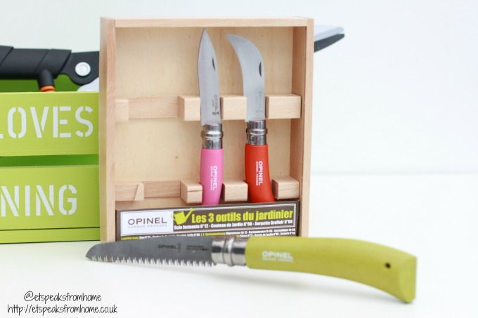 's Day Gifts for Garden Lovers 2017 opinel gardening tools