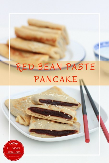 Red Bean Paste Pancake
