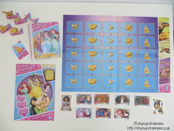 Topps Disney Princess Trading Card Game starter pack