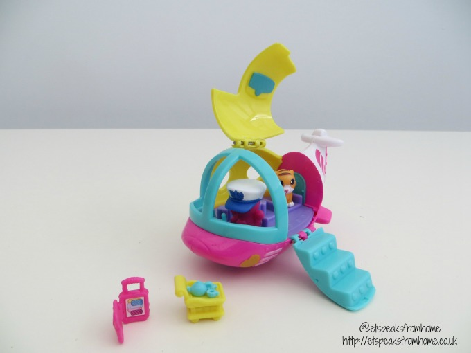 squinkies do drops airplane playset