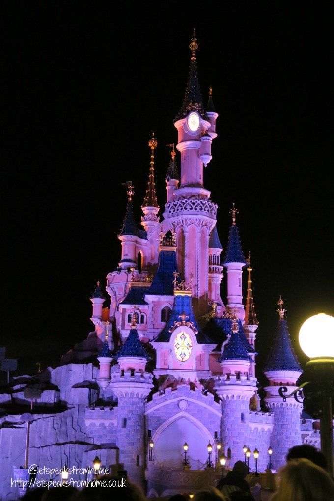 A Weekend at Disneyland Paris princess castle