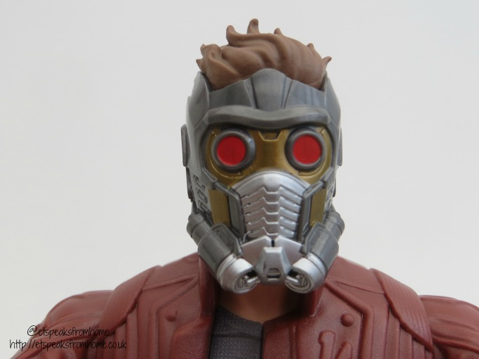 Electronic Music Mix Star-Lord Figure face