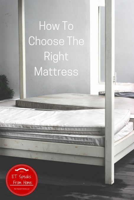 How To Choose The Right Mattress ET Speaks From Home