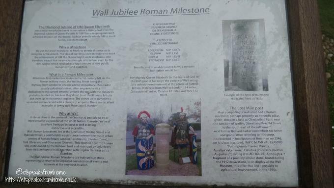Wall Roman Site history