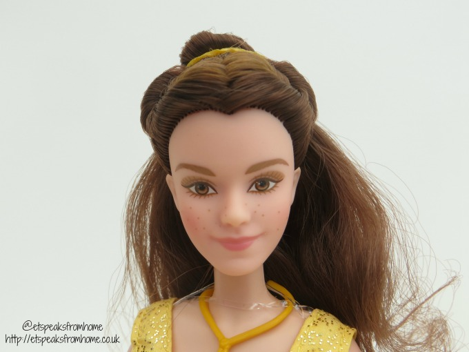 beauty and the beast belle enchanting face