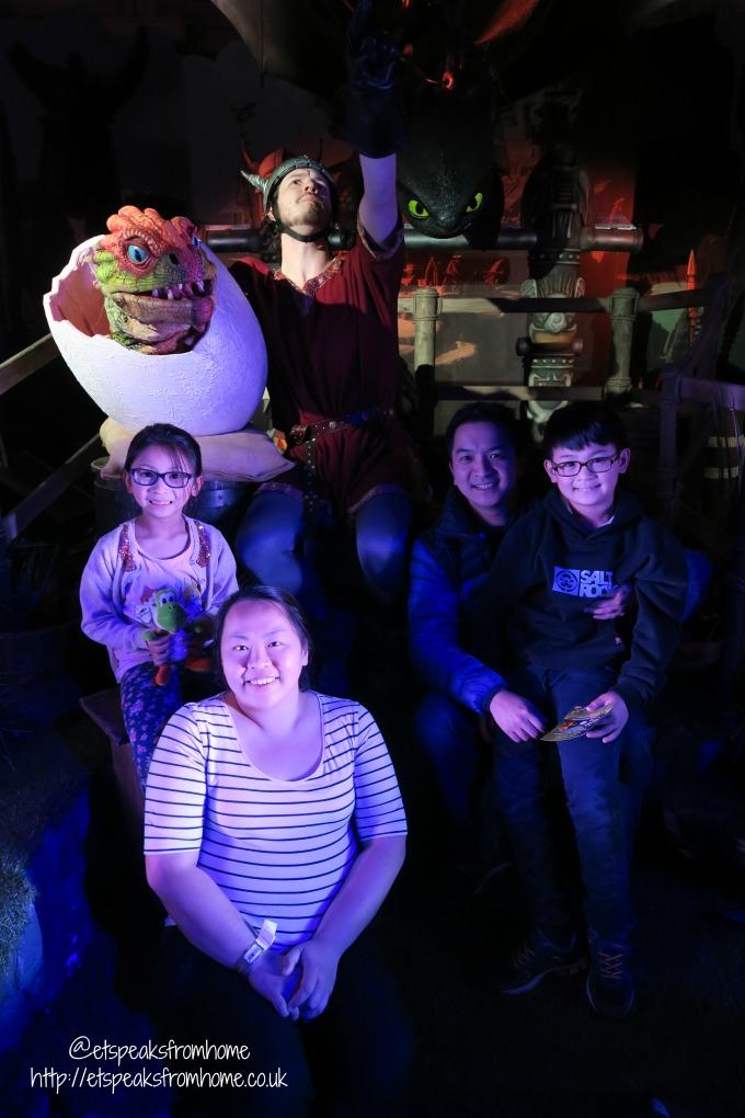 dreamworks Shrek's Adventure! London dragon