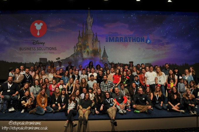 runDisney Paris 2017 dinner photo