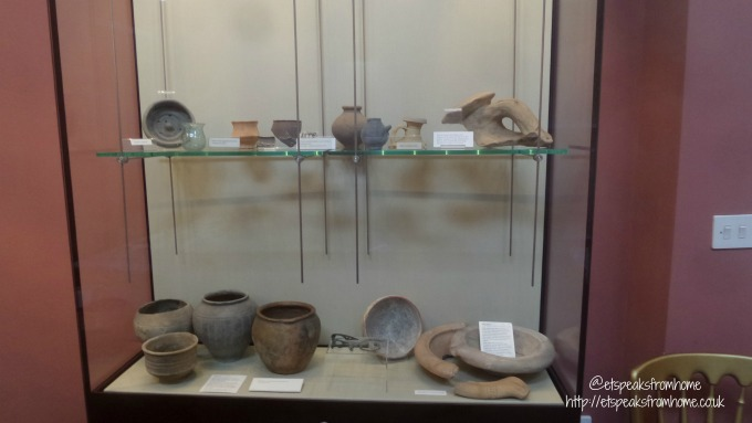 wall roman site museum artefacts