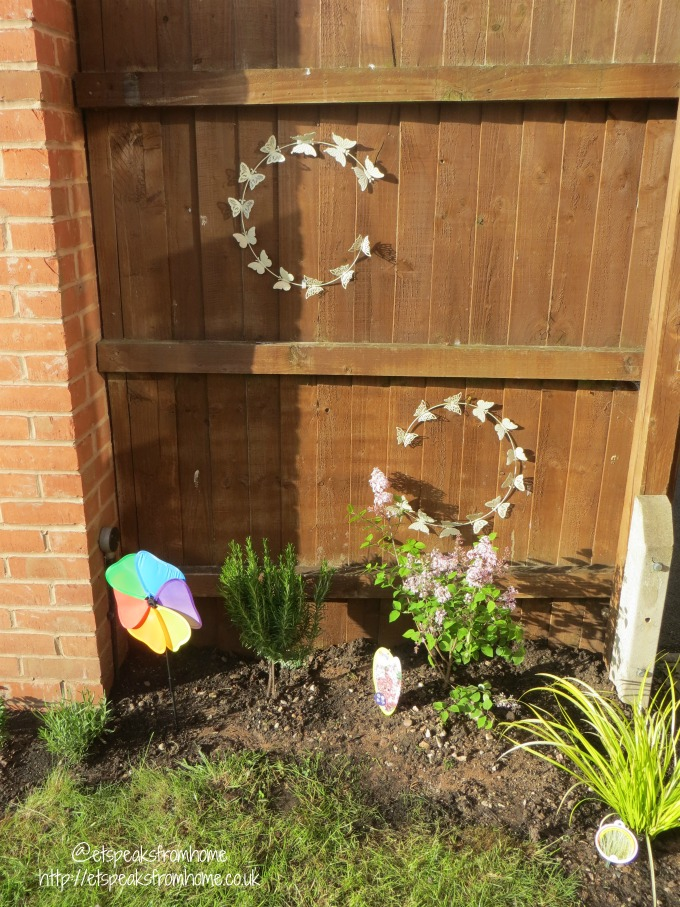 Add colour to my Garden – After Transformation garden mural