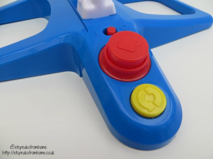 Hasbro Fantastic Gymnastics Game button