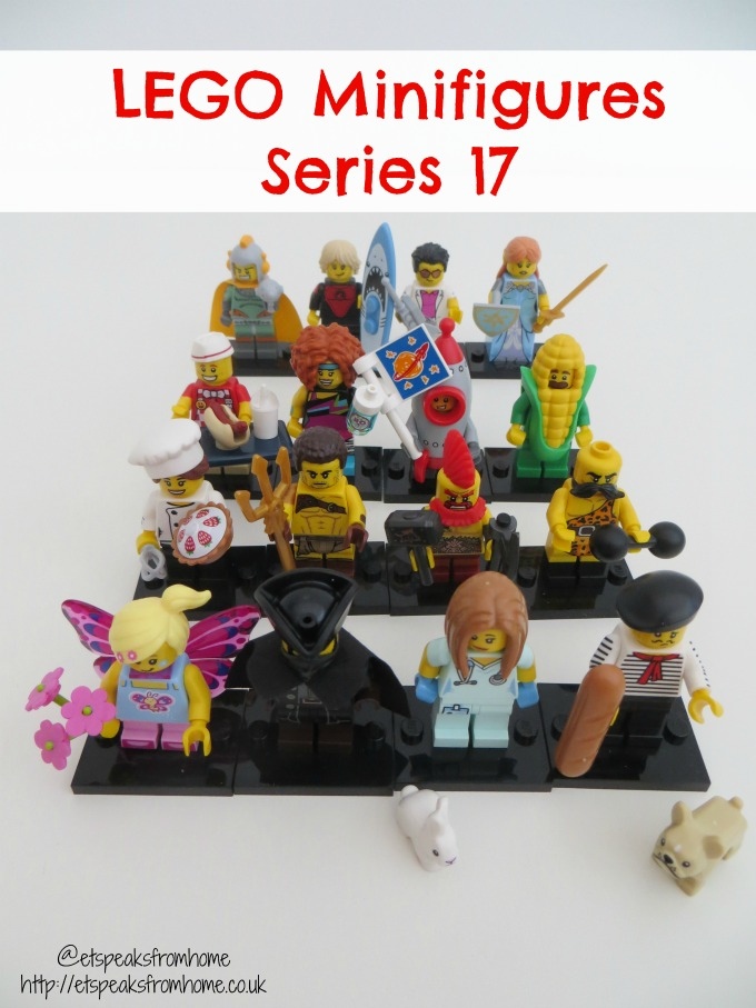 Lego Minifigures Series 17 big reveal