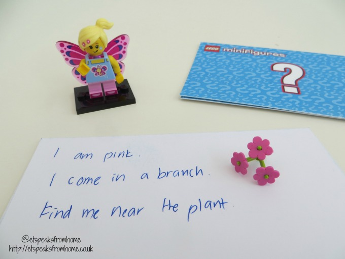 Lego Minifigures Series 17 butterfly girl
