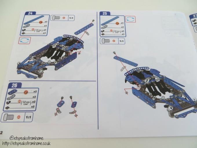 Meccano Lamborghini Huracan Spyder instructions