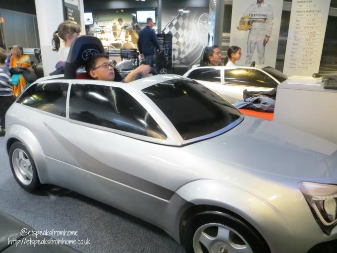 Mercedes-Benz World micro simulator