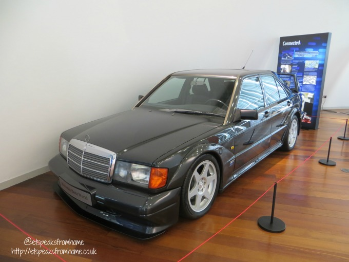 Mercedes-Benz World old car