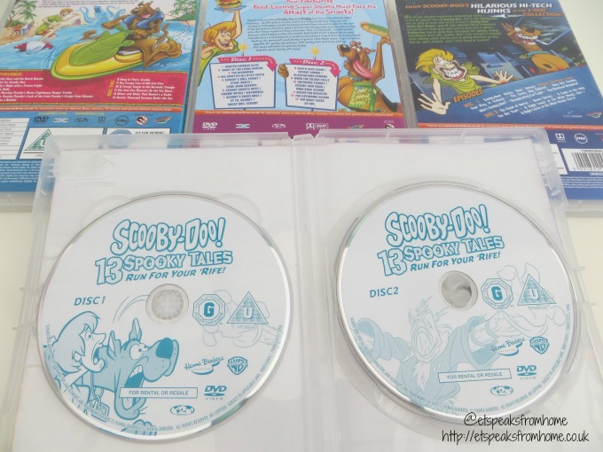 Scooby-doo dvd