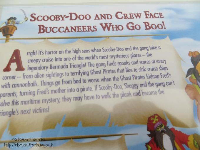 Scooby-doo pirates ahoy dvd