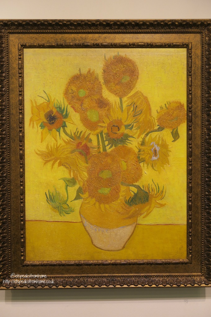 Van Gogh Museum sunflowers