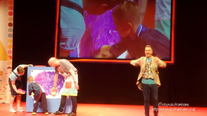 mister maker live 2017 lichfield painting