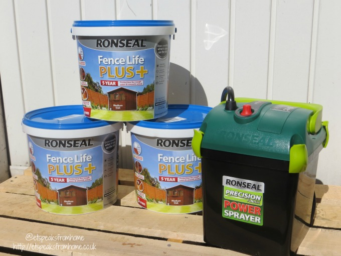 ronseal the weekend project