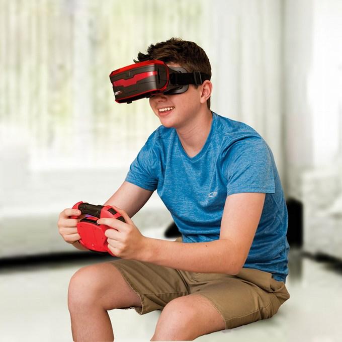 VR real feel Racing playing