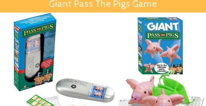 Win Pass The Pigs Game & Giant Pass The Pigs Game